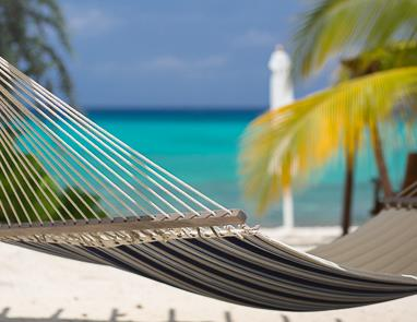 Hammock on Seven Mile Beach in front of The Palms