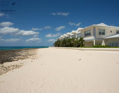 View across beach to rear of Windsor Village condos