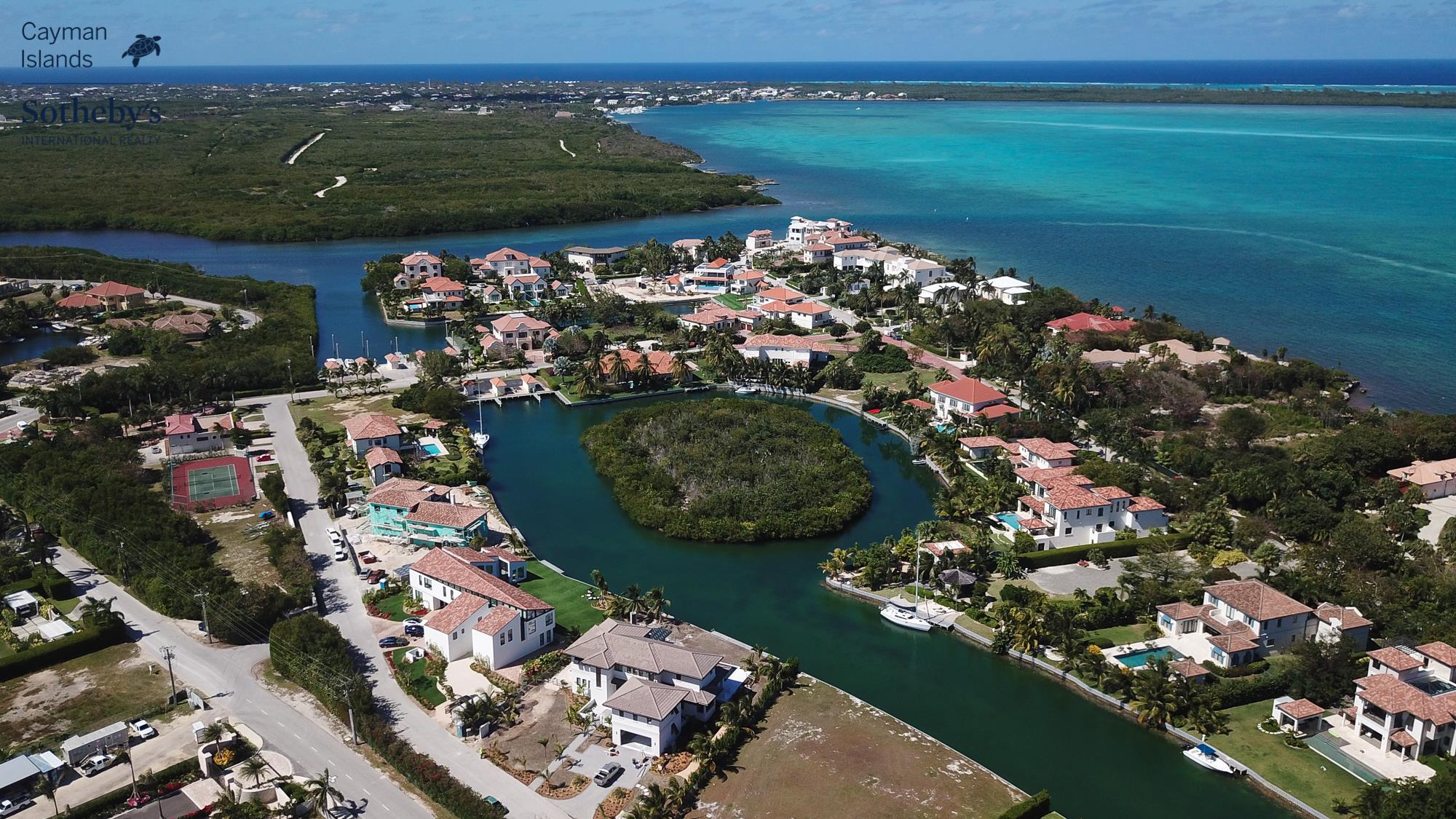 Aerial view of Vista Del Mar, Grand Cayman