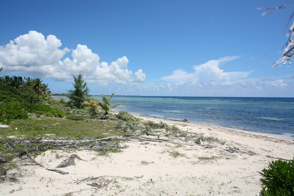 View of beach across from Bodden Town Land for sale