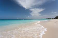 Seven Mile Beach one of the finest beaches in the Caribbean