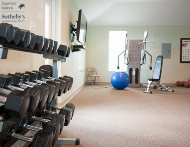 Fitness studio at The Commonwealth, Seven Mile Beach