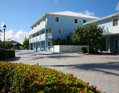 Front aspect of Silver Sands Condominiums