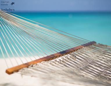 Hammock on Seven Mile Beach in front of Plantana