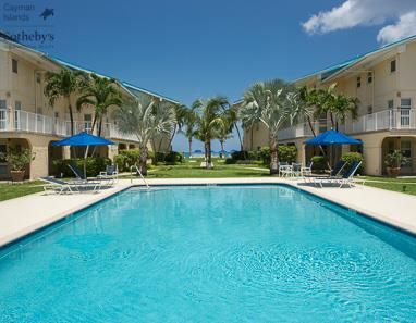Swimming pool at Cayman Reef Resort, Seven Mile Beach