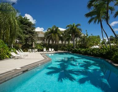 Swimming pool at The Cayman Club, Seven Mile Beach