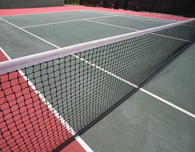Tennis court at Lacovia