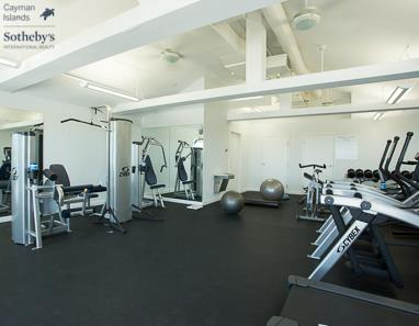 Fitness studio at the Caribbean Club